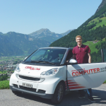 Chris Herzog mit dem COMED-Smart